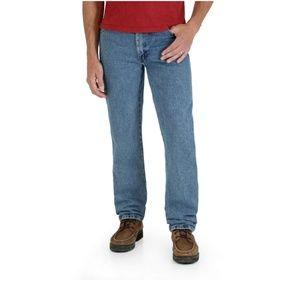 Rustler By Wrangler Mens Regular Fit Straight Leg